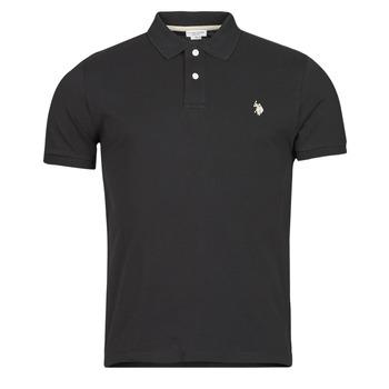 Oblačila Moški Polo majice kratki rokavi U.S Polo Assn. INSTITUTIONAL POLO Črna