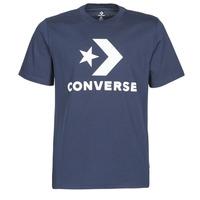 Oblačila Moški Majice s kratkimi rokavi Converse STAR CHEVRON TEE Modra