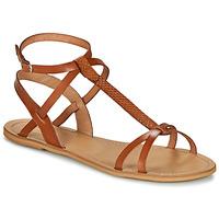 Čevlji  Ženske Sandali & Odprti čevlji So Size BEALO Kamel