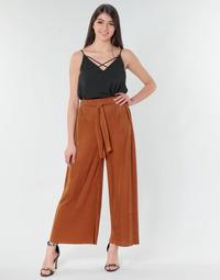 Oblačila Ženske Lahkotne hlače & Harem hlače Moony Mood 93114-ROUILLE Rouille