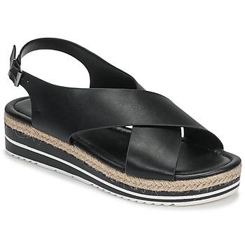 Čevlji  Ženske Sandali & Odprti čevlji Moony Mood MELANIE Črna