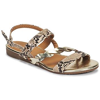 Čevlji  Ženske Sandali & Odprti čevlji Moony Mood MELINDA Piton
