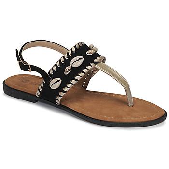 Čevlji  Ženske Sandali & Odprti čevlji Moony Mood MARISE Črna