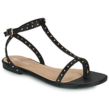 Čevlji  Ženske Sandali & Odprti čevlji Moony Mood MARIELLE Črna
