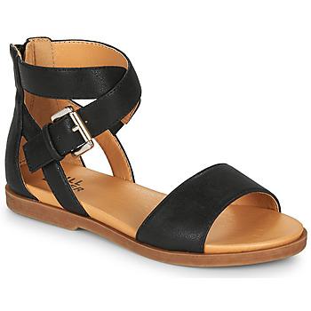 Čevlji  Deklice Sandali & Odprti čevlji Bullboxer MELISSA Črna