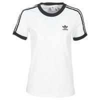 Oblačila Ženske Majice s kratkimi rokavi adidas Originals 3 STR TEE Bela