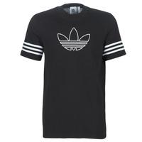 Oblačila Moški Majice s kratkimi rokavi adidas Originals OUTLINE TEE Črna