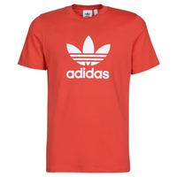 Oblačila Moški Majice s kratkimi rokavi adidas Originals TREFOIL T-SHIRT Rdeča / Luxuriant
