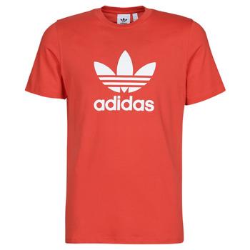Oblačila Moški Majice s kratkimi rokavi adidas Originals TREFOIL T-SHIRT Rdeča