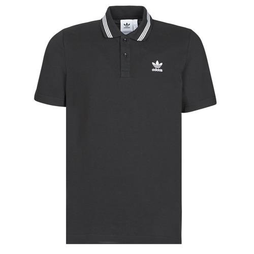Oblačila Moški Polo majice kratki rokavi adidas Originals PIQUE POLO Črna
