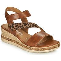 Čevlji  Ženske Sandali & Odprti čevlji Remonte Dorndorf HERNENDEZ Cognac