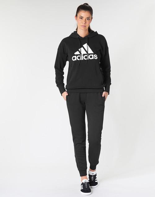 Oblačila Ženske Spodnji deli trenirke  adidas Performance E LIN PANT Črna