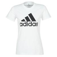 Oblačila Ženske Majice s kratkimi rokavi adidas Performance BOS CO TEE Bela