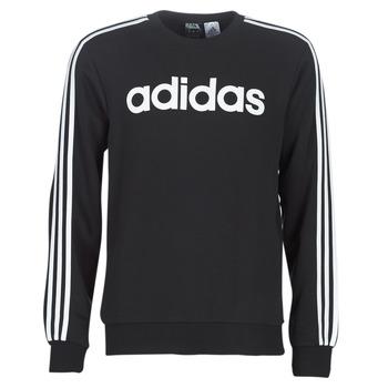 Oblačila Moški Puloverji adidas Performance E 3S CREW FL Črna