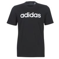 Oblačila Moški Majice s kratkimi rokavi adidas Performance E LIN TEE Črna