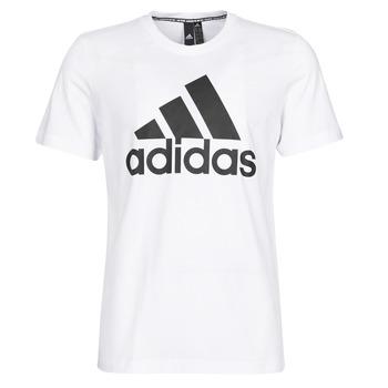 Oblačila Moški Majice s kratkimi rokavi adidas Performance MH BOS Tee Bela