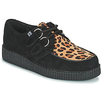 Čevlji  Čevlji Derby TUK LOW FLEX ROUND TOE CREEPER Črna