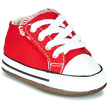 Čevlji  Otroci Visoke superge Converse CHUCK TAYLOR ALL STAR CRIBSTER CANVAS COLOR Rdeča