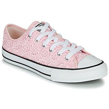 Čevlji  Otroci Nizke superge Converse CHUCK TAYLOR ALL STAR DAISY CROCHET Rožnata