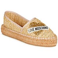 Čevlji  Ženske Espadrile Love Moschino JA10393G0A Bež