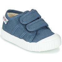 Čevlji  Otroci Nizke superge Victoria BASKET VELCRO Modra