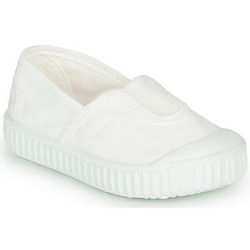 Čevlji  Deklice Nizke superge Victoria CAMPING TINTADO Bela