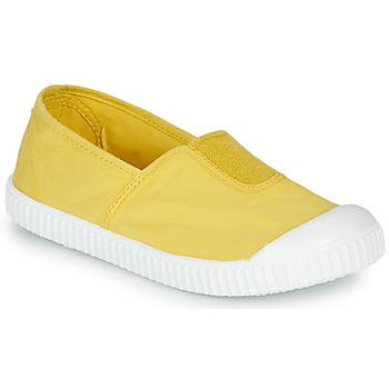 Čevlji  Deklice Nizke superge Victoria CAMPING TINTADO Rumena