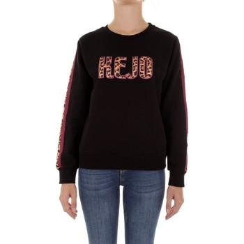 Oblačila Ženske Puloverji Kejo KW20-609W Nero