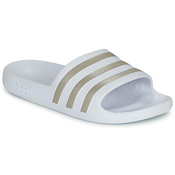 Čevlji  Natikači adidas Performance ADILETTE AQUA Bela