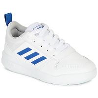 Čevlji  Dečki Nizke superge adidas Performance TENSAUR K Bela / Modra