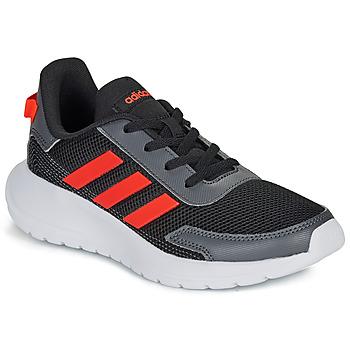 Čevlji  Dečki Nizke superge adidas Performance TENSAUR RUN K Črna / Rdeča