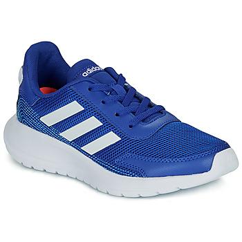 Čevlji  Dečki Nizke superge adidas Performance TENSAUR RUN K Modra / Bela
