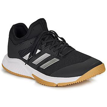 Čevlji  Moški Tenis adidas Performance COURT TEAM BOUNCE M Črna / Bela