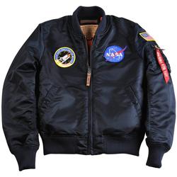 Oblačila Moški Jakne Alpha Veste  MA-1 VF NASA noir