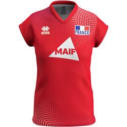 Oblačila Ženske Majice s kratkimi rokavi Errea Maillot femme third Equipe de france 2020 rouge
