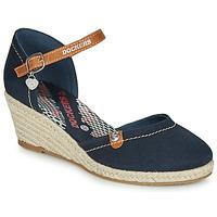 Čevlji  Ženske Sandali & Odprti čevlji Dockers by Gerli 36IS210-667 Modra
