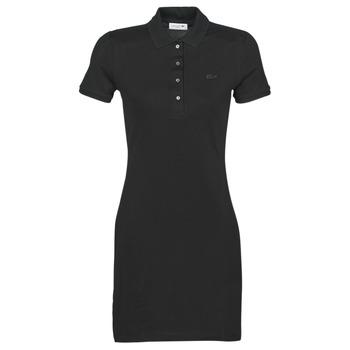 Oblačila Ženske Kratke obleke Lacoste GAIL Črna