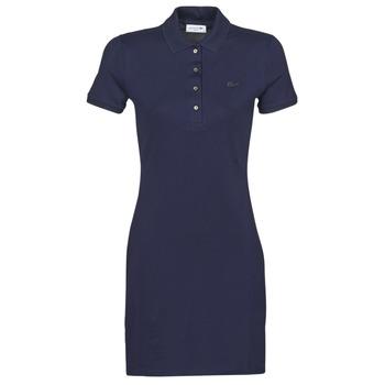 Oblačila Ženske Kratke obleke Lacoste SOLENE Modra