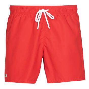 Oblačila Moški Kopalke / Kopalne hlače Lacoste JEANNAH Rdeča