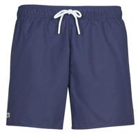 Oblačila Moški Kopalke / Kopalne hlače Lacoste DOLY Modra