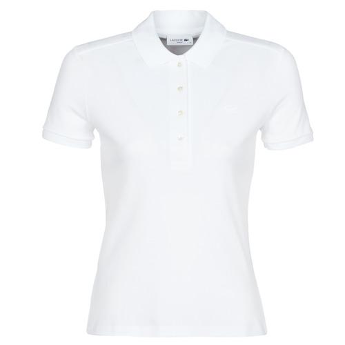 Oblačila Ženske Polo majice kratki rokavi Lacoste ADRIANNO Bela