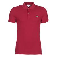 Oblačila Moški Polo majice kratki rokavi Lacoste PH4012 SLIM Bordo