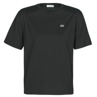 Oblačila Ženske Majice s kratkimi rokavi Lacoste  Črna
