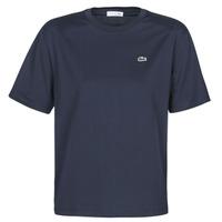 Oblačila Ženske Majice s kratkimi rokavi Lacoste ELOI Modra