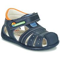 Čevlji  Dečki Sandali & Odprti čevlji Pablosky  Oranžna