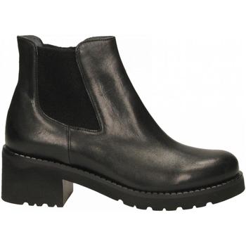 Čevlji  Ženske Gležnjarji Calpierre BUFALIS ROMM nero