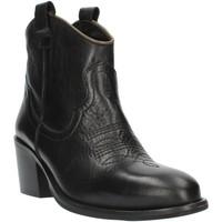 Čevlji  Ženske Gležnjarji Exton MZ40 Black