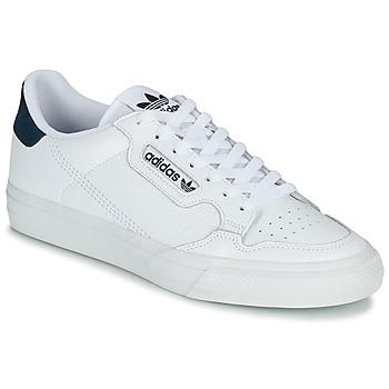 Čevlji  Nizke superge adidas Originals CONTINENTAL VULC Bela