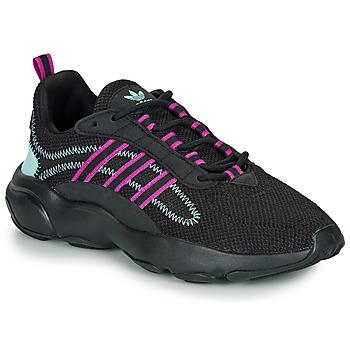 Čevlji  Ženske Nizke superge adidas Originals HAIWEE W Črna / Vijolična