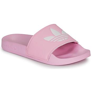 Čevlji  Ženske Nizke superge adidas Originals ADILETTE LITE W Rožnata